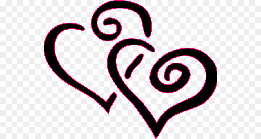 Heart Blog Valentines Day Free Content Clip Art Double Hearts Png