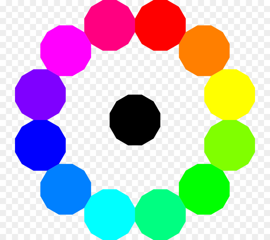 Rainbow Circle Color wheel Clip art - Starburst Sign Template png ...