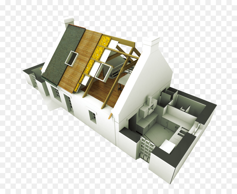 Architectural Engineering Building House Home Construction Home Improvement    3d Model Of Residential Buckle Clip Free