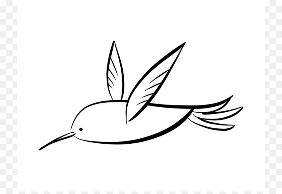 Colibrí libro para Colorear, Dibujo de Clip art - Colibrí De Dibujos ...