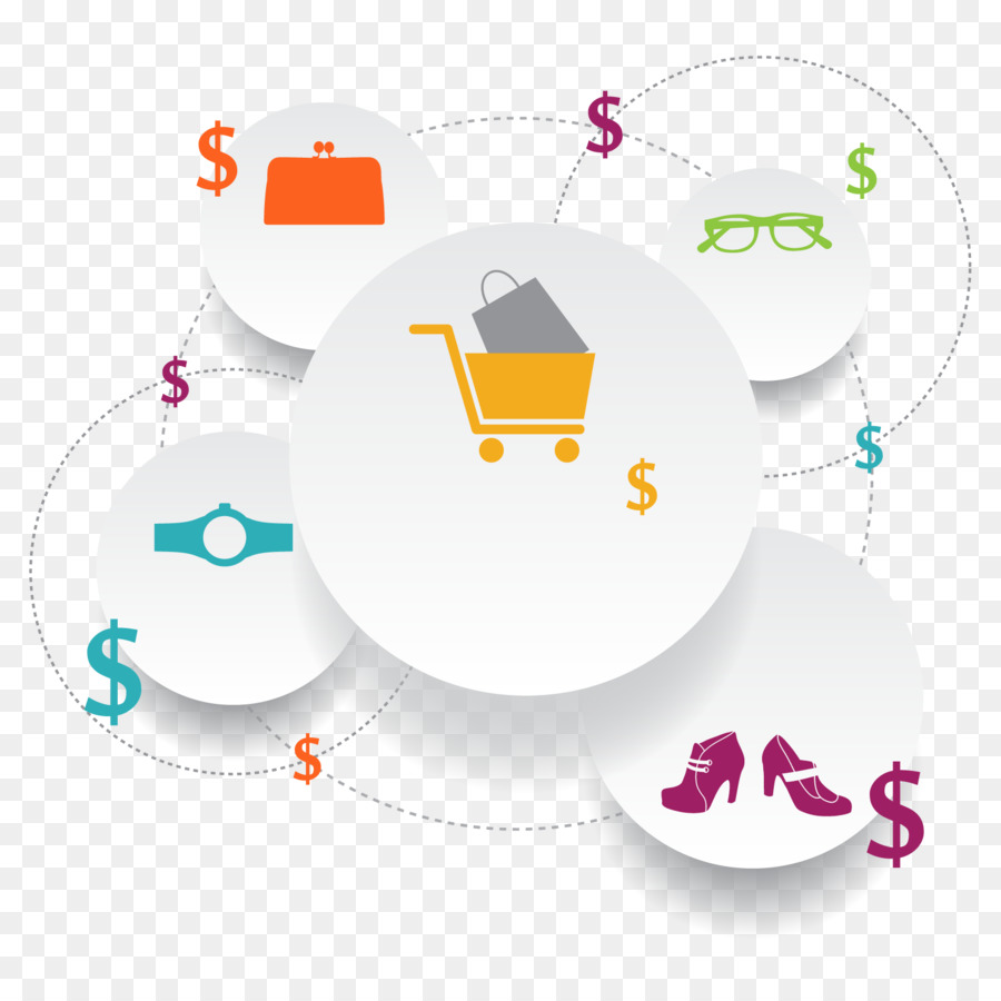 E Commerce Online Shopping Geschäft Warenkorb Gratis Vektor Ppt