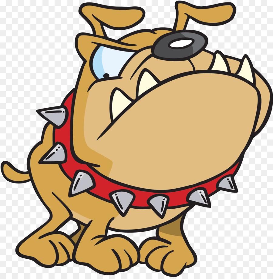 bull terrier bulldog puppy cartoon clip art mean dog cliparts png rh kisspng com