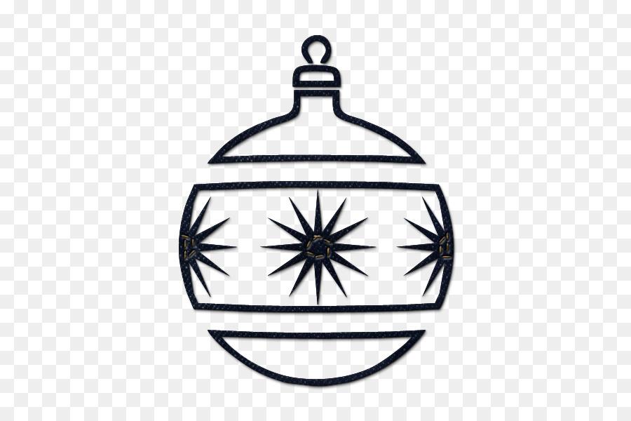 Christmas Ornament Black And White Christmas Tree Clip Art Black