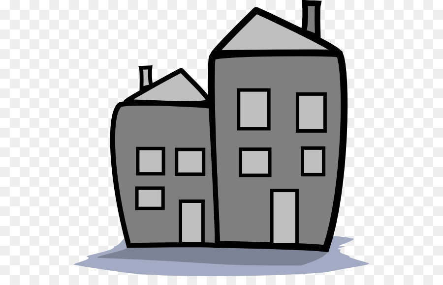 apartment building house black and white clip art apartment sign