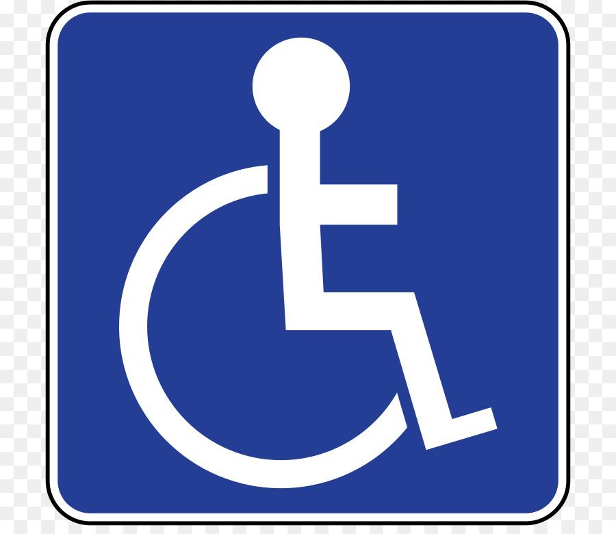 disabled parking permit disability car park sign clip art