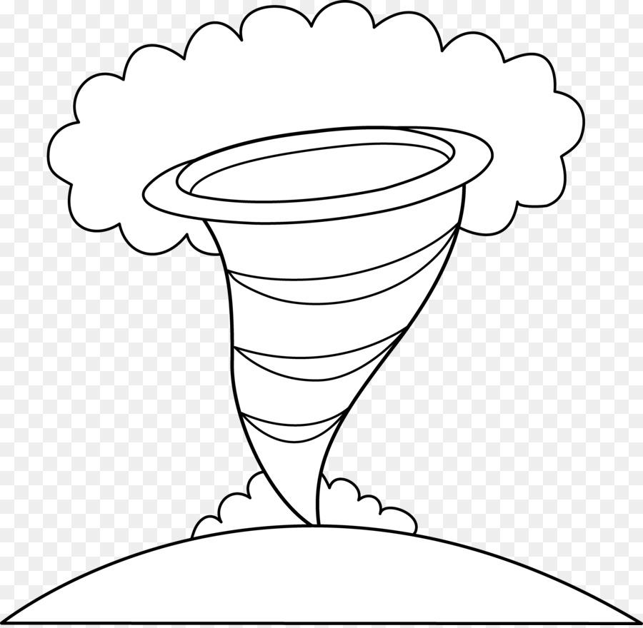 Tornado Alley libro para Colorear, Dibujo de Clip art - El Ciclón ...