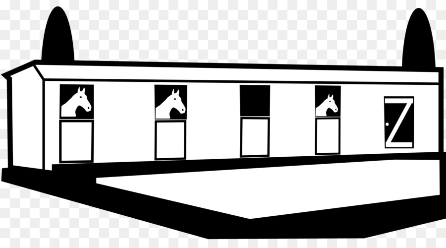Horse Stable Barn Clip Art