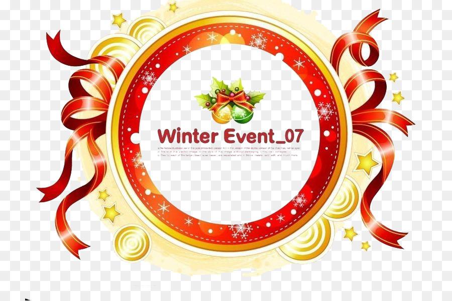 La Navidad De La Cinta Cintas de colores crculo patrn decorativo