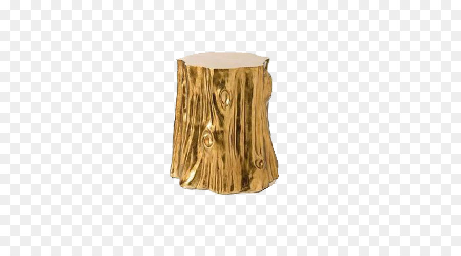 Bedside Tables Tree Stump Coffee Tables Trunk   Golden Wood Stool