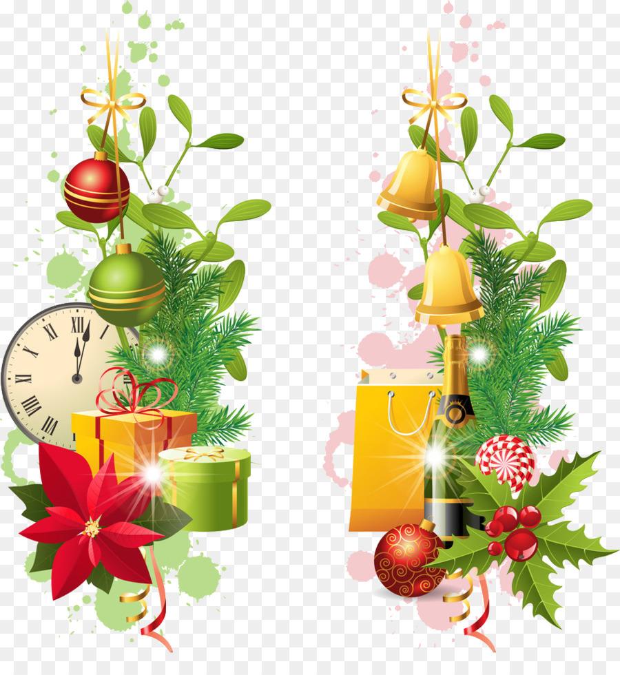 Borders And Frames Santa Claus Christmas Decoration Clip Art