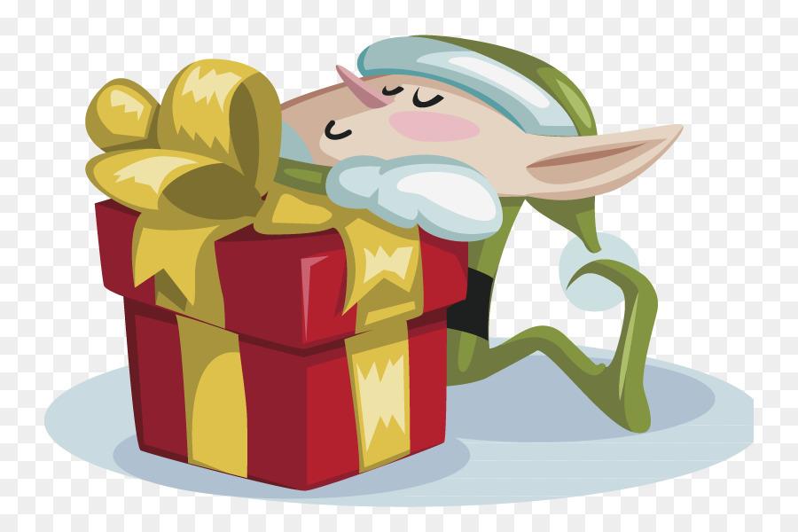 santa claus christmas card gift christmas elf creative christmas - Elf Christmas Card