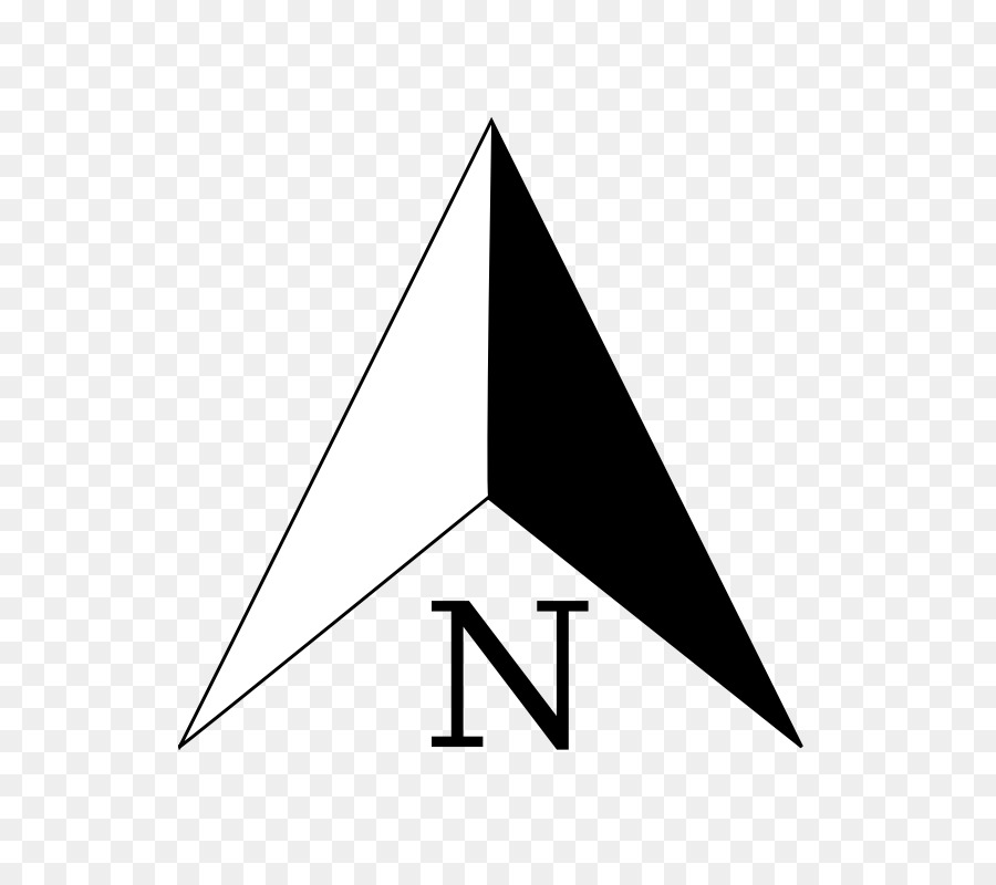 north arrow clip art