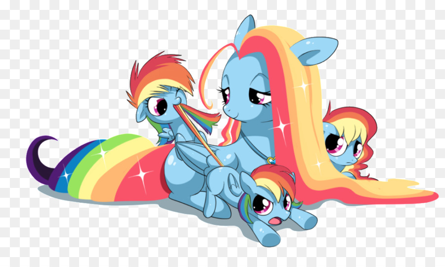 Gökkuşağı Dash Twilight Sparkle Pinkie Pie Görüntüyü Toynakları