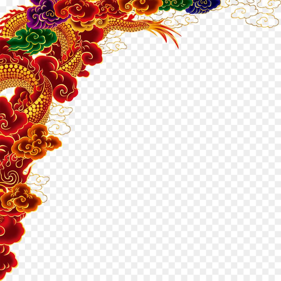 coreldraw template chinese dragon graphic design
