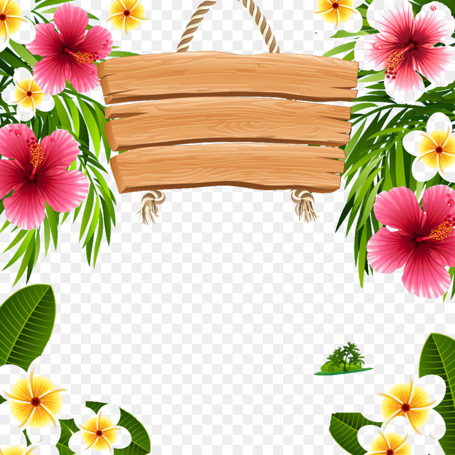 Hawaii Picture Frames Clip Art