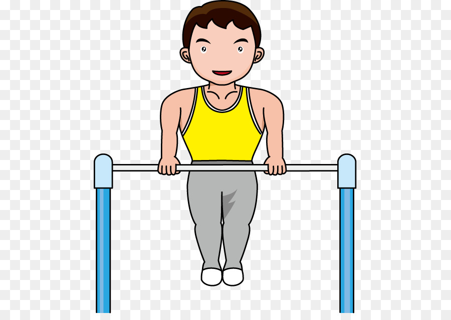 Gymnastics Horizontal Bar Balance Beam Clip Art