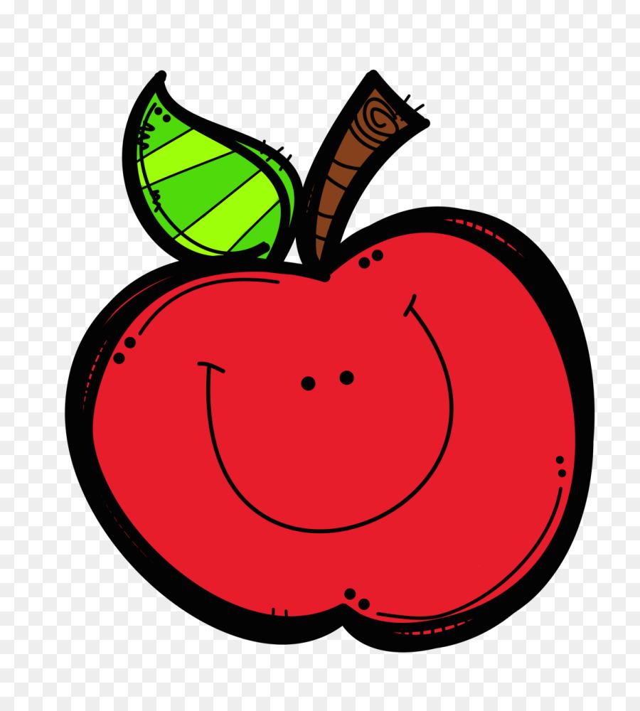 Apple cartoon. Leaf png download free