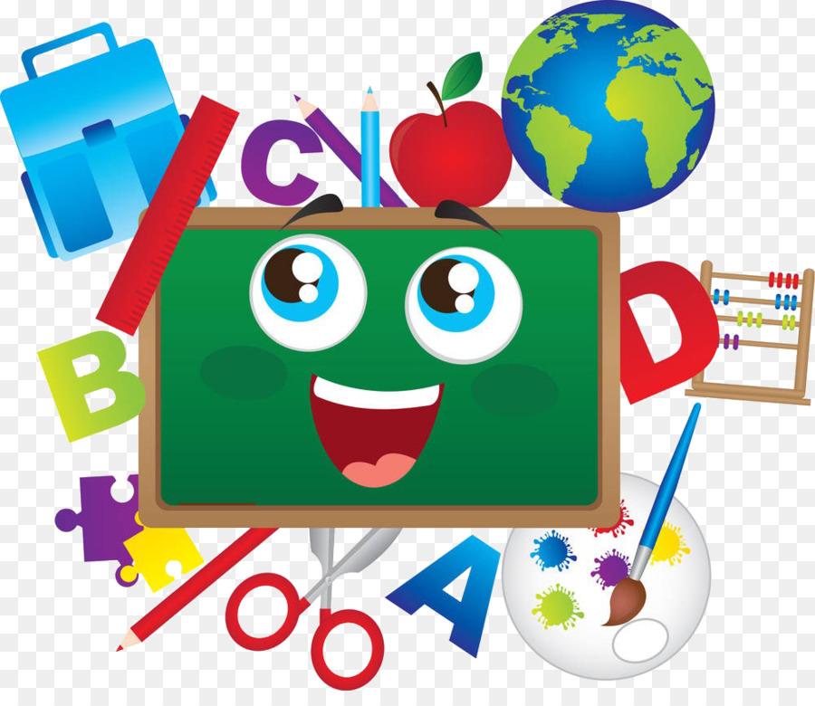Okul öğrenci Eğitim öğretmen Illüstrasyon Boyama Araçları Png