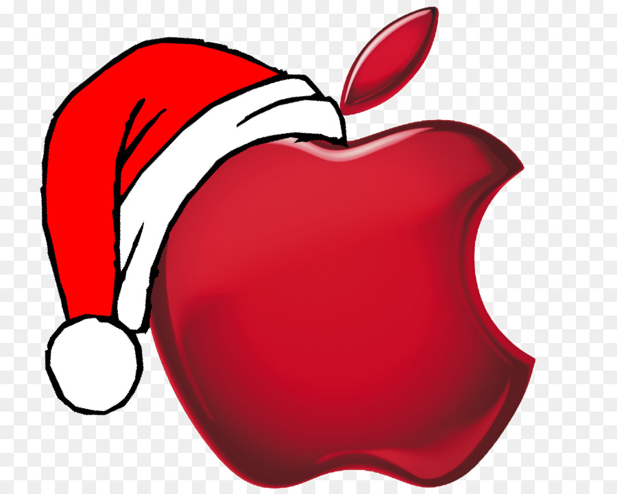 macintosh christmas apple logo clip art christmas logos - Christmas Logos