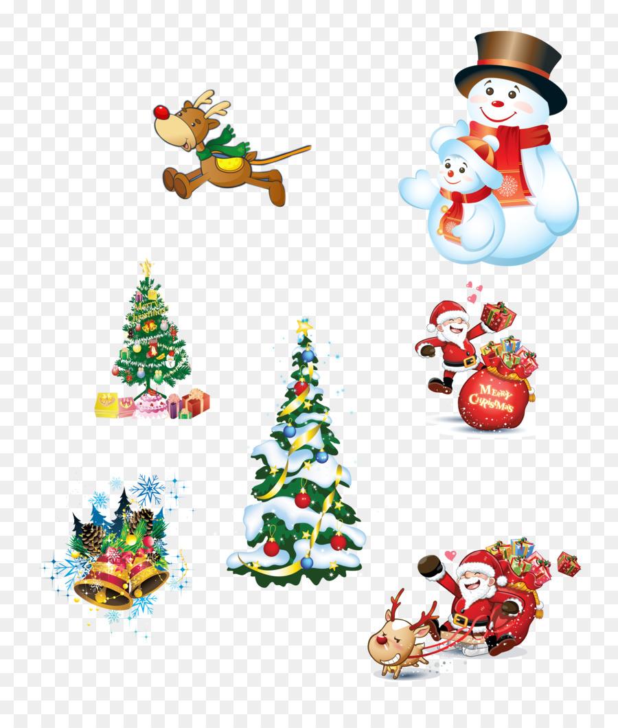 Dibujos De Navidad Creativos.Santa Claus Regalo De Navidad Creativo De Navidad Png