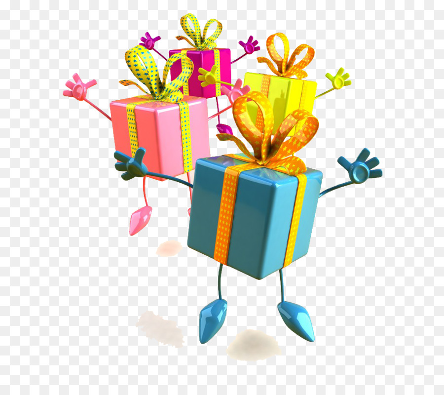 Party Birthday Happy To You Flower Gift PNG