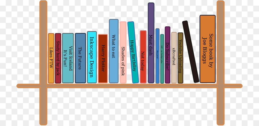 Shelf Bookcase Clip Art