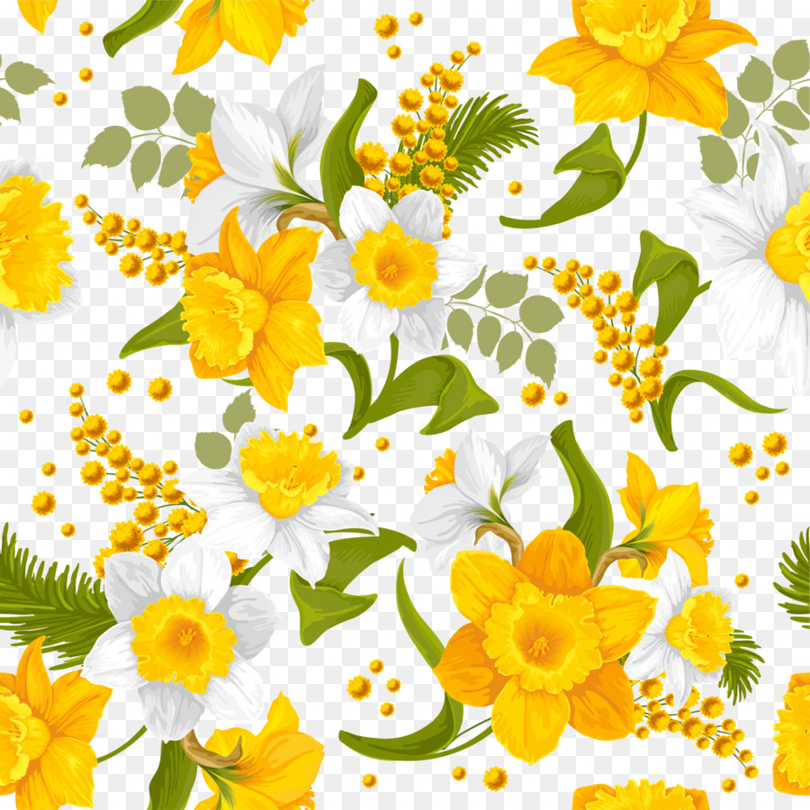 Yellow Flower Yellow Flower Background Png Download 20002000