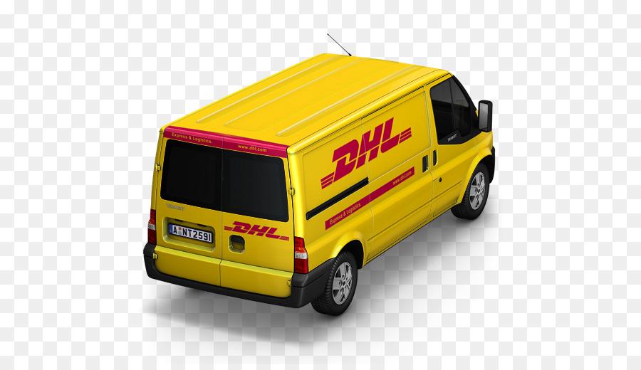 Kendaraan Komersial Van Kompak Merek Mobil Dhl Van Kembali Unduh