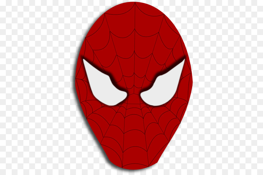 Spider-Man Clip art - Spiderman Face Template png download - 426*599 ...