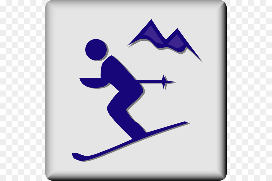 alpine skiing sport clip art skier cartoon png download 600 599 rh kisspng com skies clip art skier clipart free