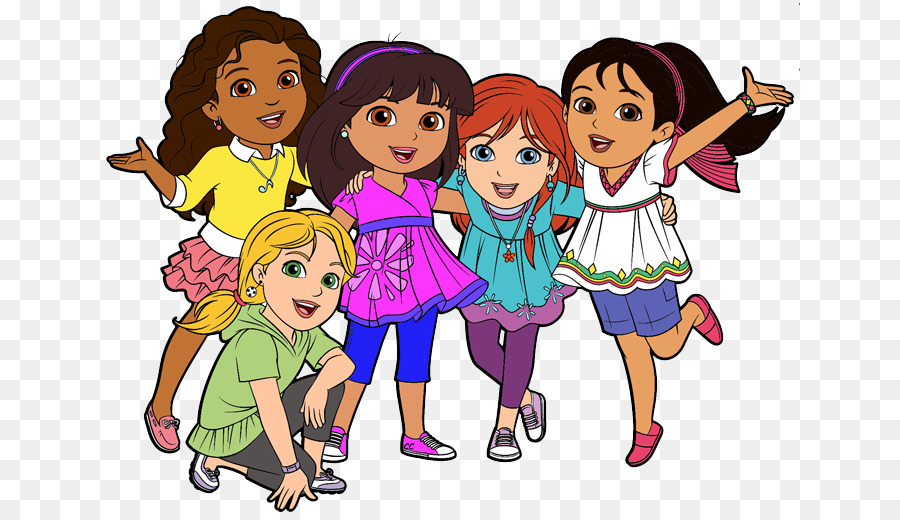 dora and friends into the city free content clip art animated rh kisspng com friendship clip art quotes friends clip art concerned