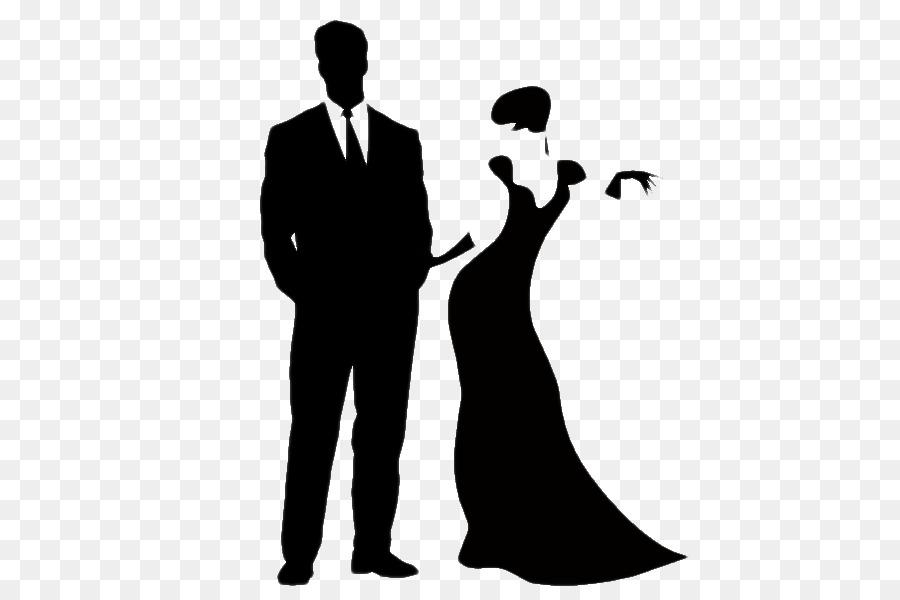 Formal wear Little black dress Gown Clip art - College Party ...