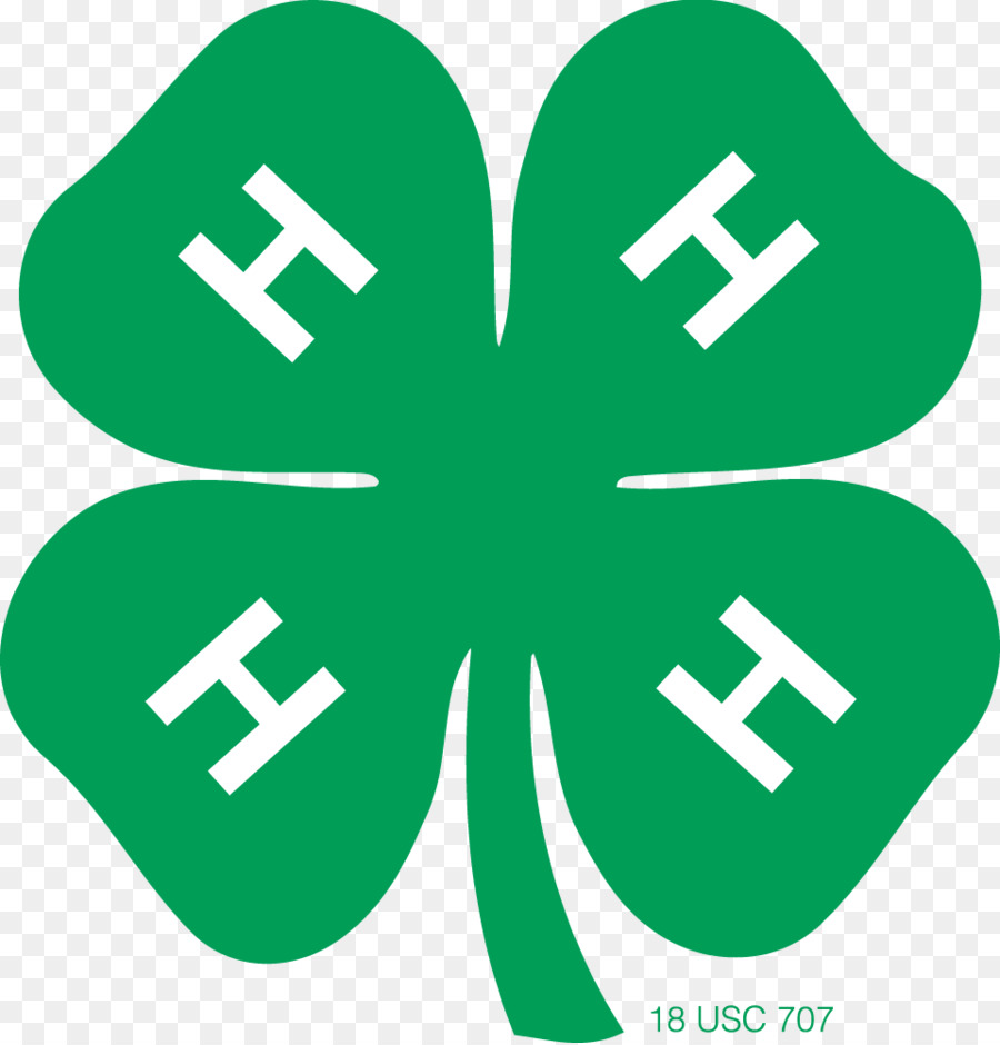 united states 4 h clover organization youth four leaf clover rh kisspng com 4 h clover clip art free