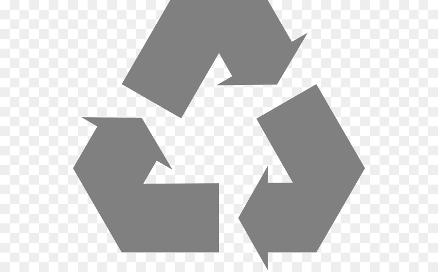 Paper Recycling Recycling Symbol Clip Art Simple Recycle Icon
