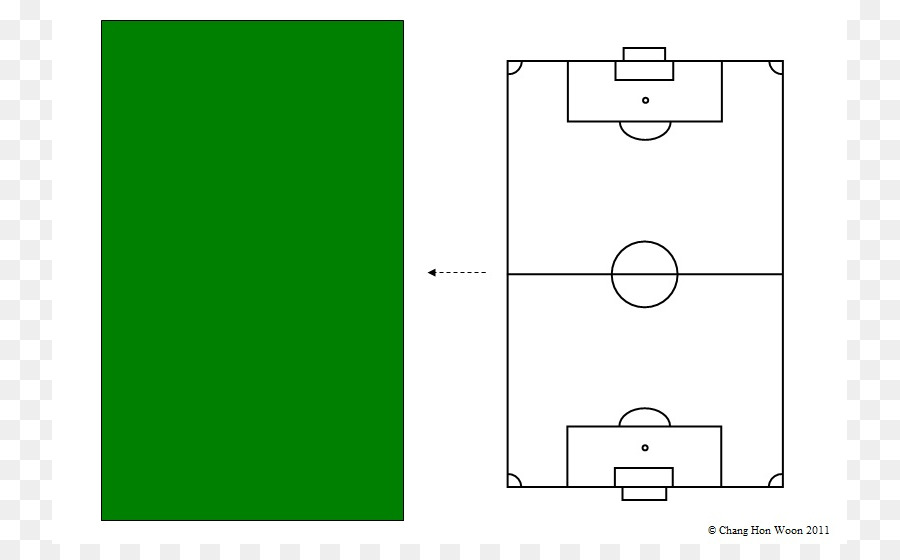 Football Pitch Diagram Clip Art Soccer Field Diagram Png Download