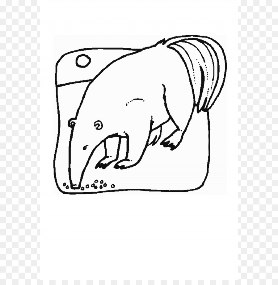 Oso hormiguero tamandua del Norte libro para Colorear de Rinoceronte ...