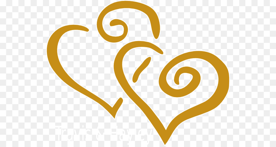 Wedding invitation Wedding anniversary Clip art - GOLD HEART png ...