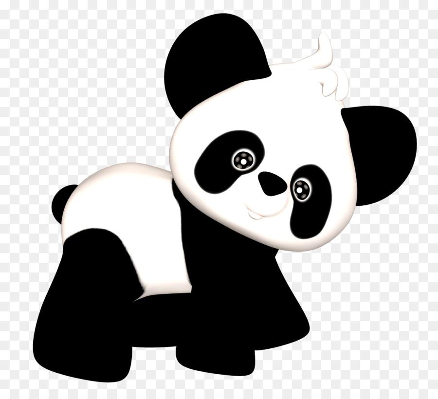 El panda gigante Roja de Oso panda Clip art - Bebé Panda Cliparts ...