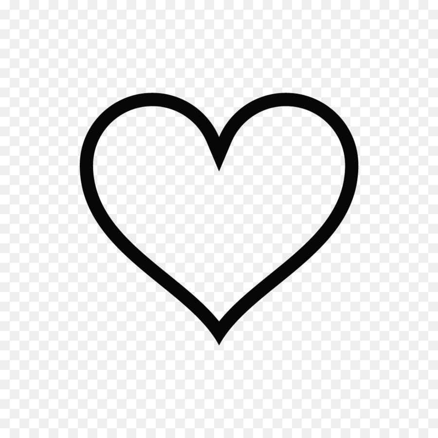 Love letter Feeling Desire Writing - Heart Outline 983*983 ...