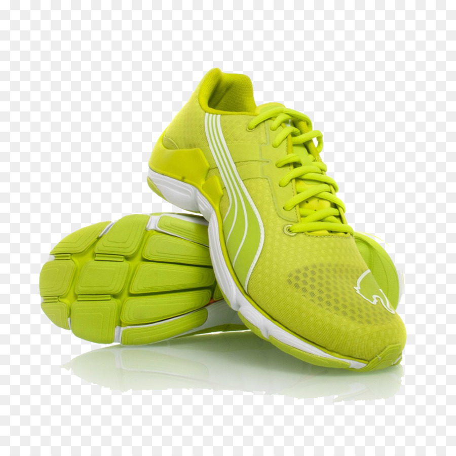 95ad57b64d76 Puma Shoe Sneakers Nike Footwear - Green Running Shoes Png png download -  1000 1000 - Free Transparent Puma png Download.