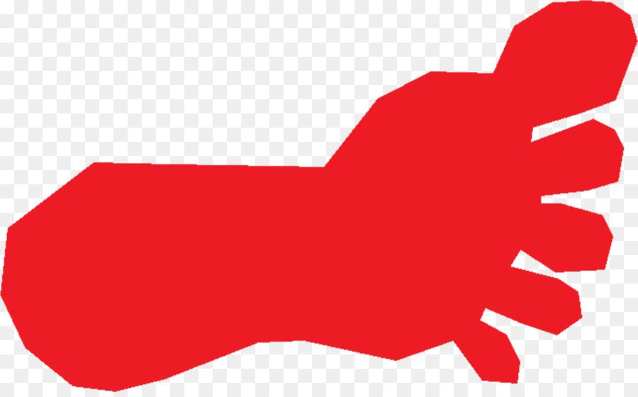 bigfoot footprint clip art red feet cliparts png download 2079 rh kisspng com