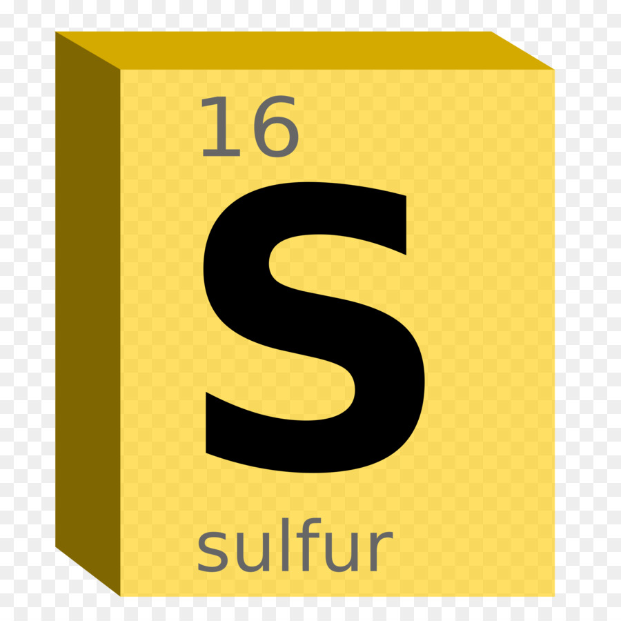 Symbol Sulfur Chemical Element Periodic Table Clip Art   Chemistry Symbol  Cliparts