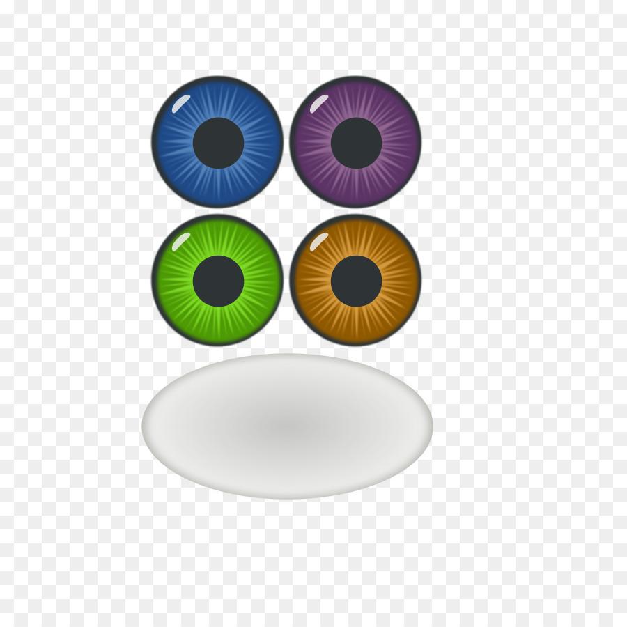 Eye Color Iris Clip Art Free Vector Eye Png Download 636900