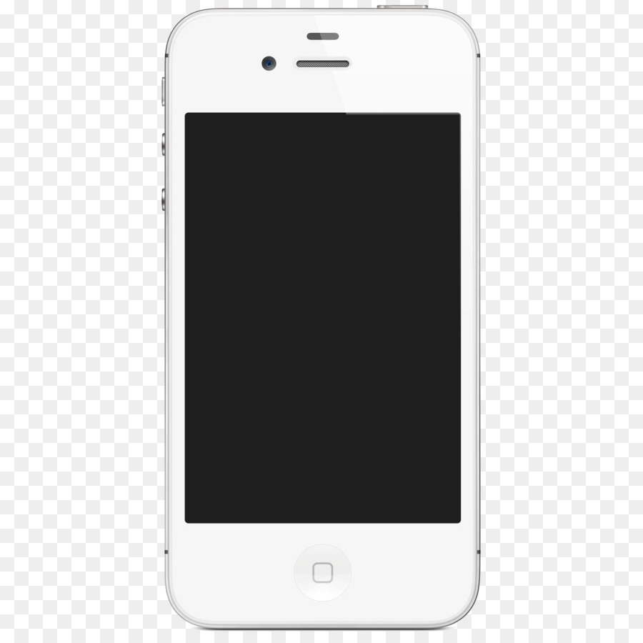 white iphone 5 vector download