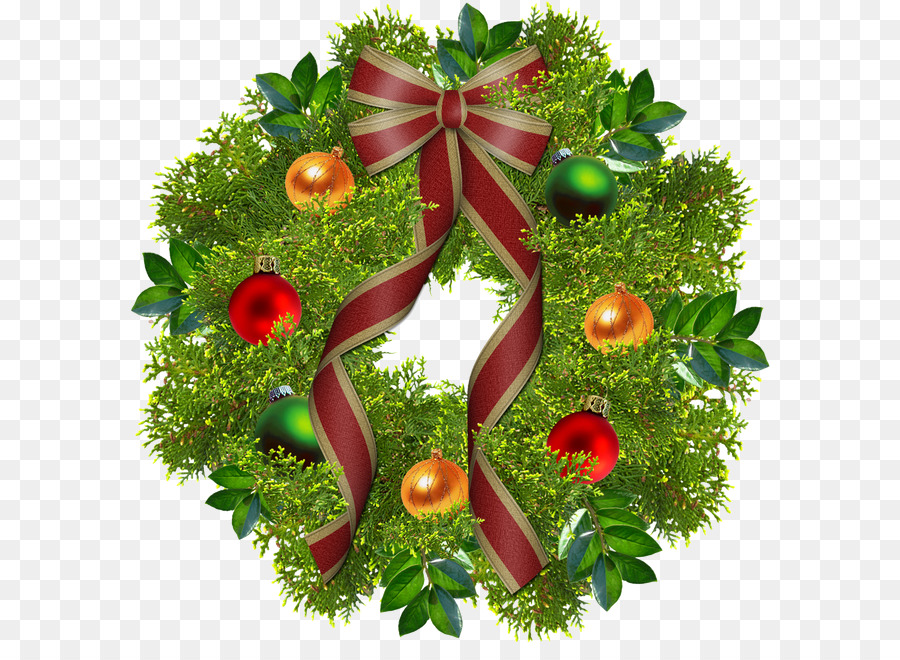 Wreath christmas garland tree topper clip art images download