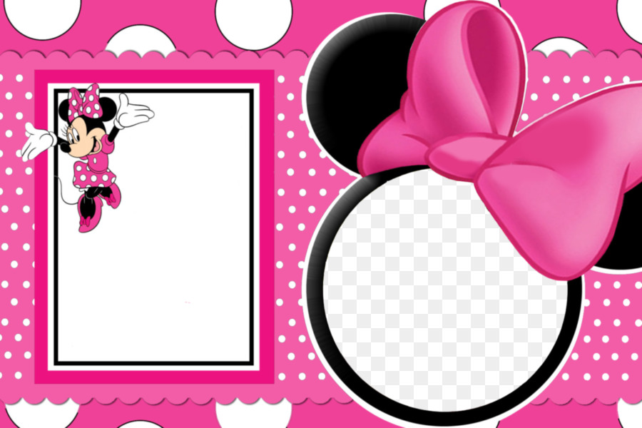 Minnie Mouse Mickey Mouse Picture Frames Clip art - Minnie Mouse ...
