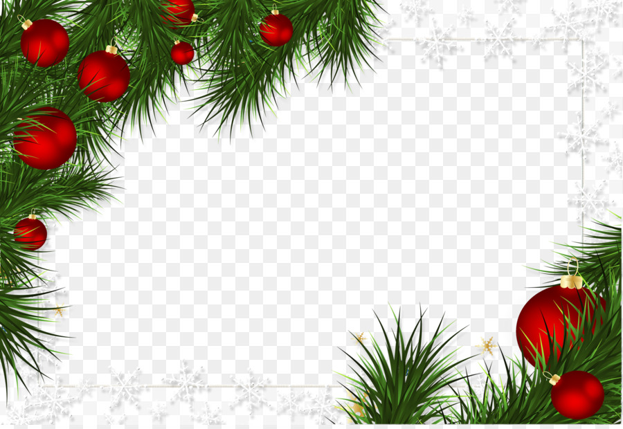 Borders And Frames Christmas Decoration Picture Ornament