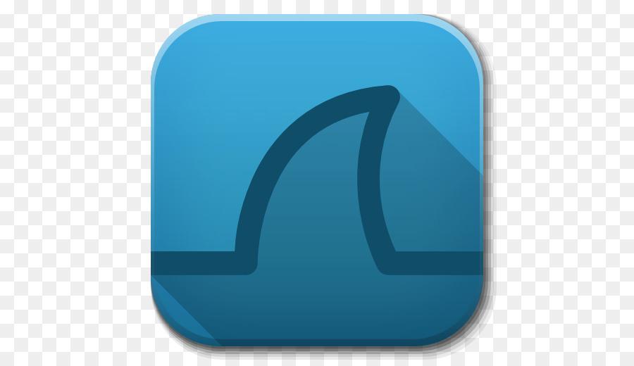 blue angle symbol aqua - Apps Wireshark png download - 512*512 ...