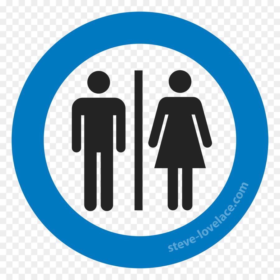Unisex Public Toilet Bathroom Sign Restroom Symbol Icon Png - Unisex bathroom sign