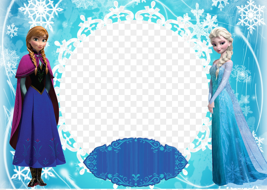 Elsa Anna Olaf Picture Frames - Frozen Castle Png png download ...
